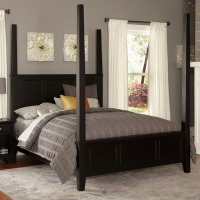 Marblewood Four Poster Bed Size: King