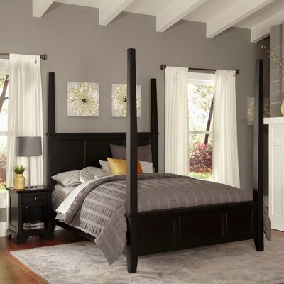 Marblewood Four Poster 2 Piece Bedroom Set Size: Queen