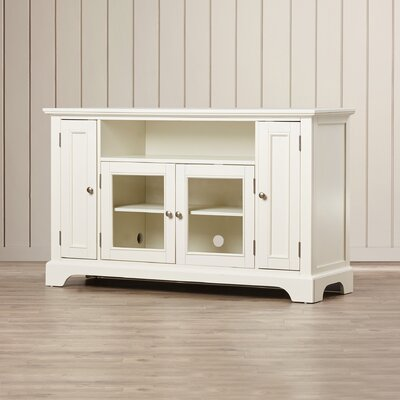 Marblewood TV Stand Finish: Off-White