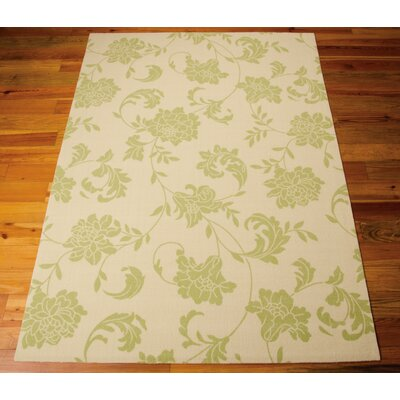 Chloe Light Green & Ivory Indoor/Outdoor Area Rug