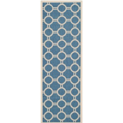 Bexton Blue/Beige Inddor/Outdoor Area Rug