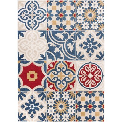 Monterrey Beige Area Rug Rug Size: Rectangle 53 x 73