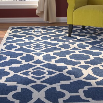 Kenworthy Lapis Indoor/Outdoor Area Rug