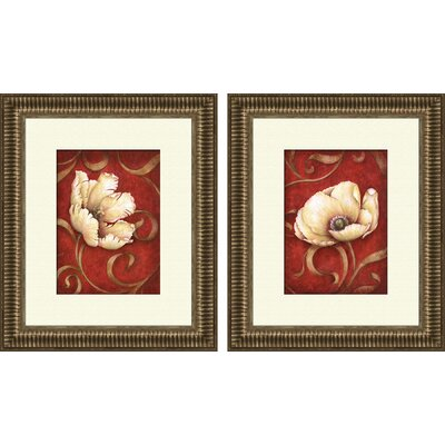 Fantasy 2 Piece Framed Painting Print Set