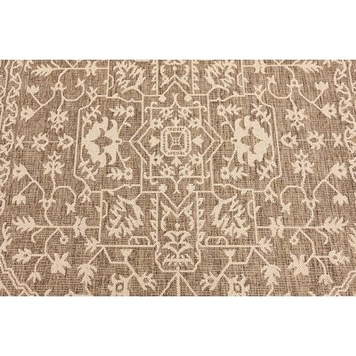 Baden Brown Outdoor Area Rug Rug Size: 6 x 9