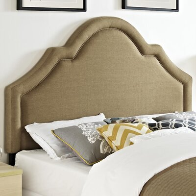 Baton Rouge Queen Upholstered Panel Headboard Upholstery: Camel
