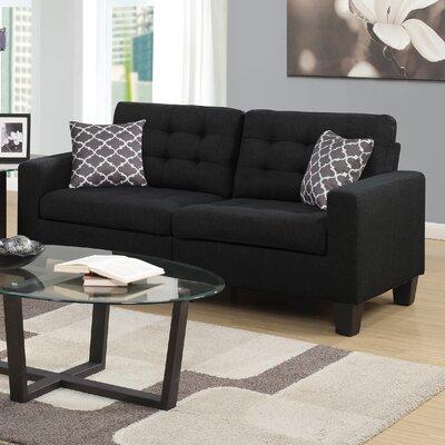 Bateson Sofa Color: Black