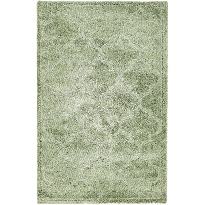 Fullmer Green Area Rug Rug Size: 5 x 8