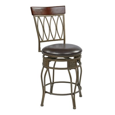 Hanaford 24 Swivel Bar Stool