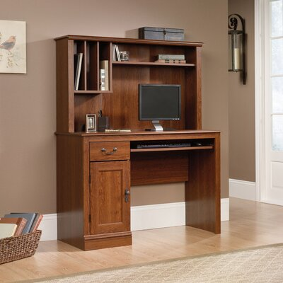 Hanlon 43.5 W Computer Desk with Hutch
