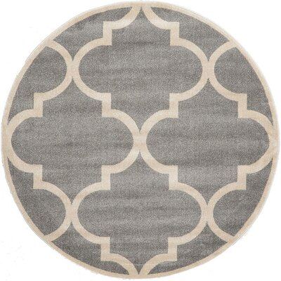 Emjay Gray Area Rug Rug Size: 5 x 8