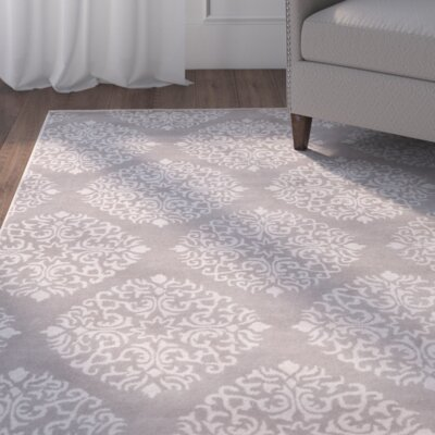 Reese Stone Rug Rug Size: 33 x 53