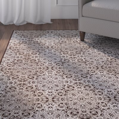 Eagleview Chocolate Area Rug Rug Size: Rectangle 22 x 4