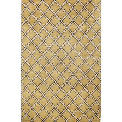 Newell Tan Area Rug Rug Size: 56 x 86