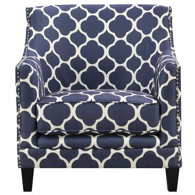 Bailes Arm Chair Upholstery: Marine