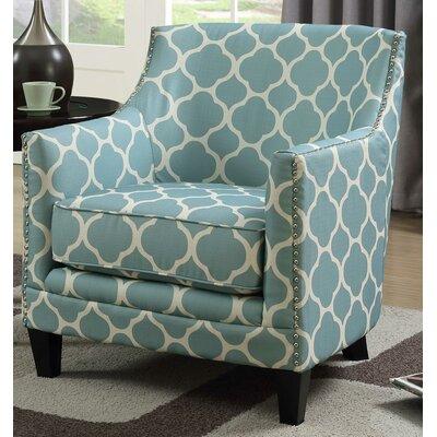 Bailes Armchair Upholstery: Aqua