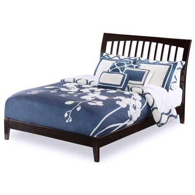 Homer Panel Bed Size: King, Color: Espresso