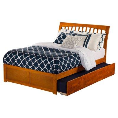 Homer Sleigh Bed Finish: White, Size: Full