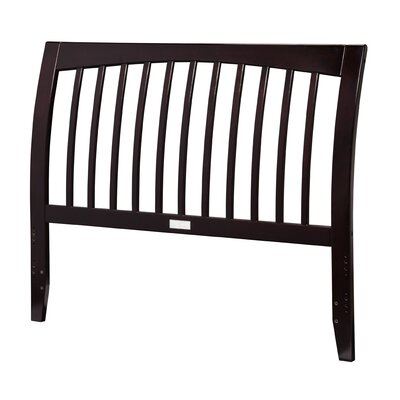 Homer Slat Headboard Size: Queen, Color: White