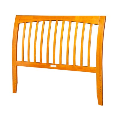 Homer Slat Headboard Finish: Caramel Latte, Size: Full