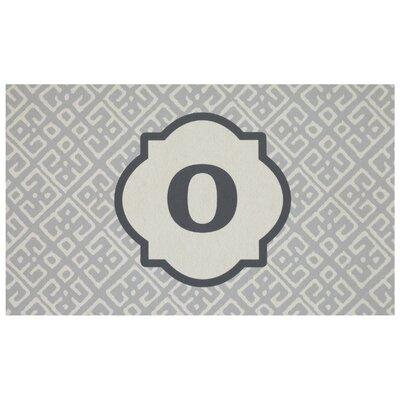 Stroupe Monogram Kitchen Mat Letter: O
