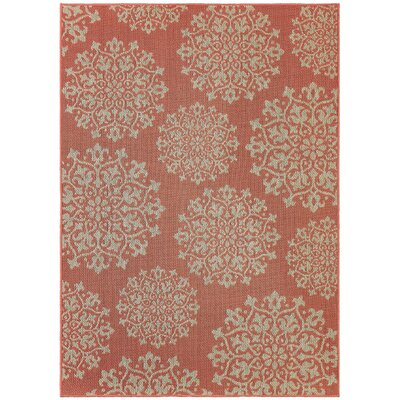 Elmer Outdoor Area Rug Rug Size: 53 x 76