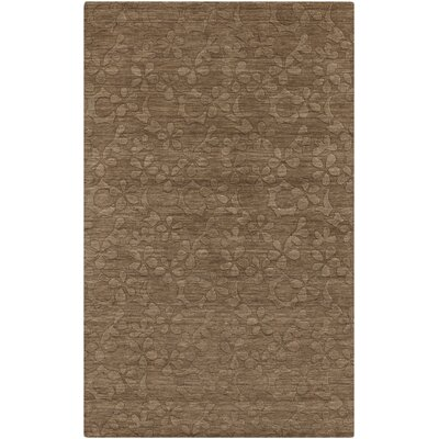 Grange Raw Umber Area Rug Rug Size: Rectangle 8 x 11