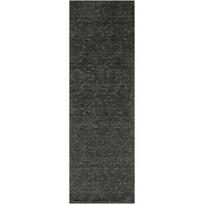 Grange Black Olive Area Rug Rug Size: Runner 26 x 8