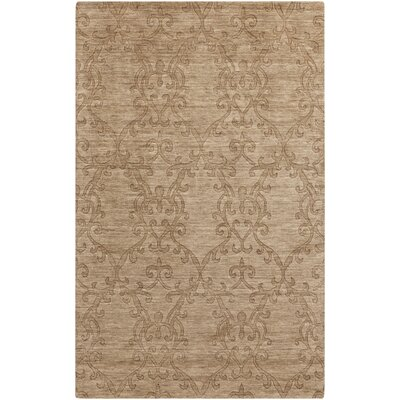 Gallaher Raw Umber Area Rug Rug Size: 2 x 3