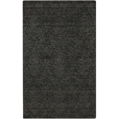 Gallaher Black Olive Area Rug Rug Size: Rectangle 33 x 53