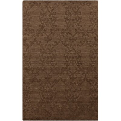 Gallaher Sugar Brown Area Rug Rug Size: 5 x 8