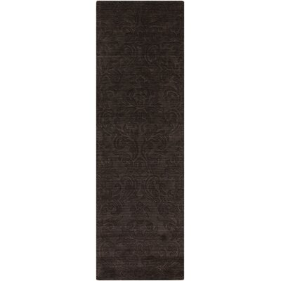 Gallaher Espresso Area Rug Rug Size: Runner 26 x 8