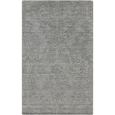 Gallaher Gray Area Rug Rug Size: Rectangle 33 x 53