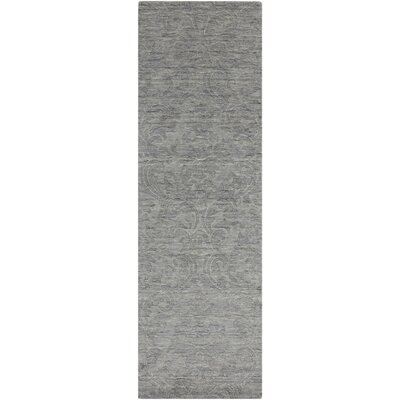 Gallaher Gray Area Rug Rug Size: Runner 26 x 8