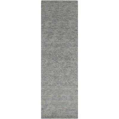 Gallaher Gray Area Rug Rug Size: 2 x 3