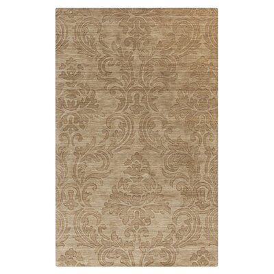 Gallaher Raw Umber Area Rug Rug Size: Rectangle 8 x 11