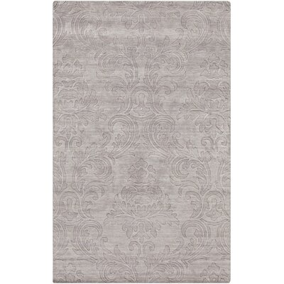 Gallaher Light Gray Mist Area Rug Rug Size: 2 x 3