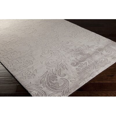 Gallaher Light Gray Mist Area Rug Rug Size: 2' x 3'