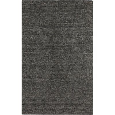 Gallaher Black Area Rug Rug Size: Rectangle 5 x 8