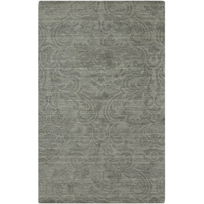 Gallaher Bay Gray Leaf Area Rug Rug Size: 5 x 8