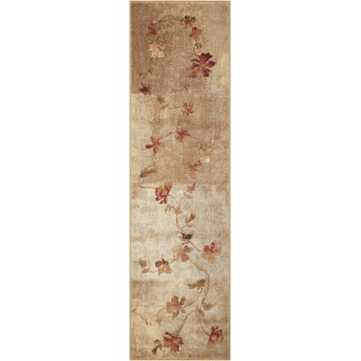 Dundridge Hand-Woven Brown/Red Area Rug Rug Size: Runner 2 x 59