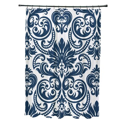 Hanriette Shower Curtain Color: Blue