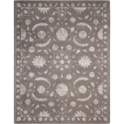 Kalona Hand-Tufted Dove Area Rug Rug Size: 8 x 11