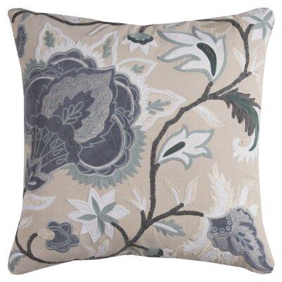 Hoyne Cotton Throw Pillow Color: Beige