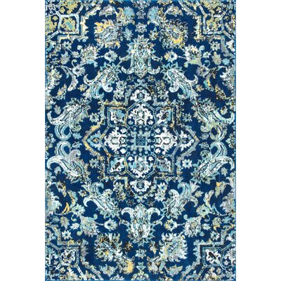 Oneonta Blue Area Rug Rug Size: 9 x 12