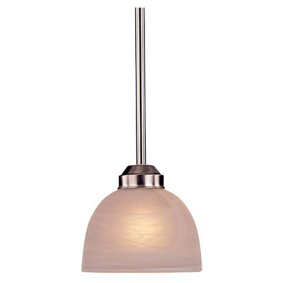 Stivers 1 Light Mini Rod Drop Pendant