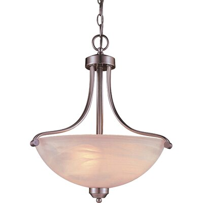 Stivers 3-Light Inverted Pendant