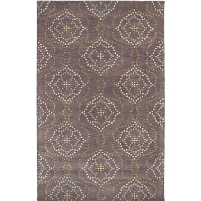 Bergland Hand Tufted Brown/Beige Area Rug Rug Size: Rectangle 3'6