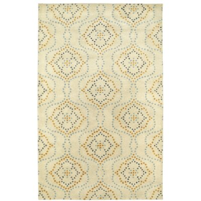 Bergland Hand Tufted Beige Area Rug Rug Size: Rectangle 2 x 3