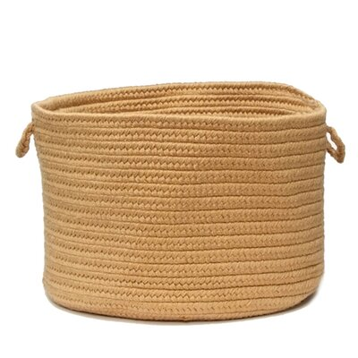 Knudtson Braided Utility Basket Color: Bronze